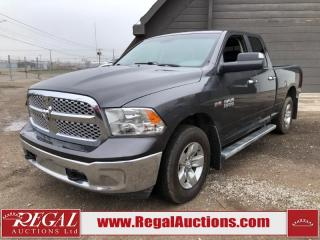Used 2016 RAM 1500 SLT 4D Quad CAB SWB 4WD 5.7L for sale in Calgary, AB