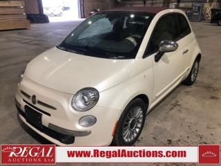 Used 2012 Fiat 500 Lounge 2D CABRIOLET FWD for sale in Calgary, AB