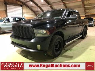 Used 2014 RAM 1500 Sport Crew CAB SWB for sale in Calgary, AB