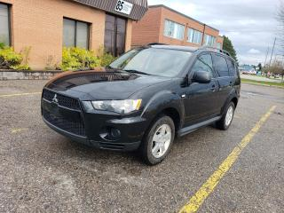 Used 2012 Mitsubishi Outlander ES | ACCIDENT FREE | WARRANTY | ONE OWNER for sale in Richmond Hill, ON