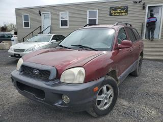 Used 2004 Hyundai Santa Fe LX for sale in Stittsville, ON