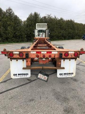 1992 MONON Container Chassis container chassis
