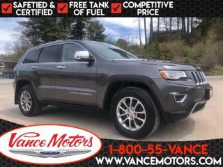 Used 2015 Jeep Grand Cherokee Limited 4X4...LEATHER*COOLED SEATS*SUNROOF! for sale in Bancroft, ON