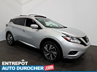 Used 2015 Nissan Murano AWD Platinum Navigation - A/C - Toit Ouvrant -Cuir for sale in Laval, QC