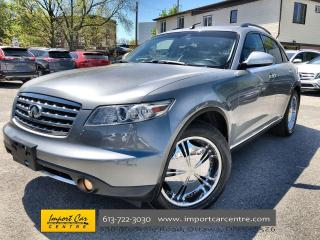 Used 2006 Infiniti FX35 LANE DEPARTURE  INTELLIGENT CRUISE CONTROL  LEATHE for sale in Ottawa, ON
