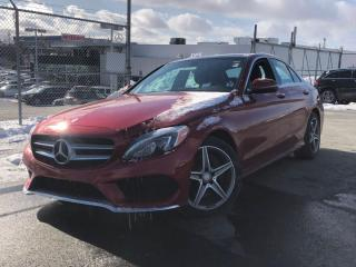 Used 2016 Mercedes-Benz C-Class BLIND SPOT  PANORAMIC ROOF  NAVI  BACKUP CAMERA  H for sale in Ottawa, ON