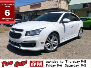 Used 2015 Chevrolet Cruze 2LT RS  | Leather | Sunroof | 6Spd | B/Up Cam for sale in St Catharines, ON