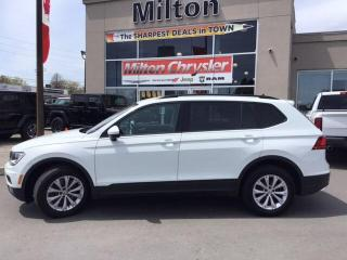 Used 2018 Volkswagen Tiguan Trendline 4Motion for sale in Milton, ON