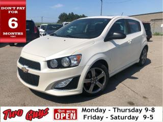 Used 2015 Chevrolet Sonic RS | 6Spd | Leather | Sunroof | Bluetooth | for sale in St Catharines, ON