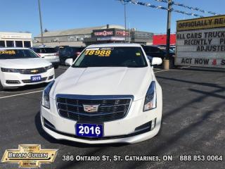 Used 2016 Cadillac ATS Sedan Performance  - Certified for sale in St Catharines, ON