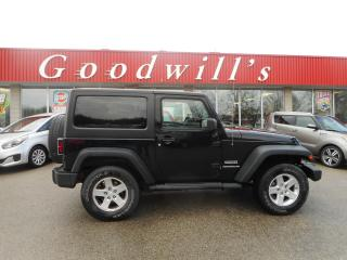 Used 2014 Jeep Wrangler SPORT! for sale in Aylmer, ON