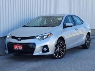 Used 2015 Toyota Corolla S|Sunroof|Leather Trim|FINANCING AVAILABLE for sale in Mississauga, ON