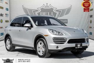 Used 2014 Porsche Cayenne Platinum Edition, V6, AWD, NAVI, REAR CAM, SUNROOF for sale in Toronto, ON
