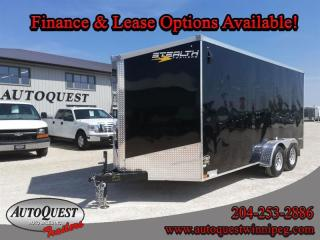 Used 2021 Stealth Cargo Trailer 7' x 16' V-Nose for sale in Winnipeg, MB
