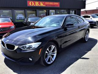 Used 2015 BMW 4 Series PREMIUM PKG-428i XDRIVE -NAVI-CAM RECUL-TOIT OUVT for sale in Laval, QC