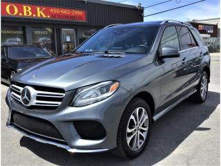 Used 2017 Mercedes-Benz GLE-Class 4MATIC-GLE 400-TOIT PANO-NAVIGATION-CAM 360-APPLE for sale in Laval, QC
