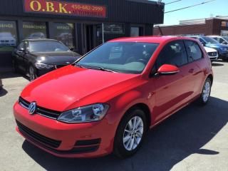 Used 2015 Volkswagen Golf HB Auto 1.8 TSI Trendline-BLUETOOTH-SIEGES CHAUFF for sale in Laval, QC