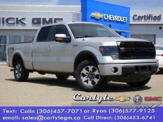 Used 2014 Ford F-150 Crew Leather, 4WD for sale in Carlyle, SK