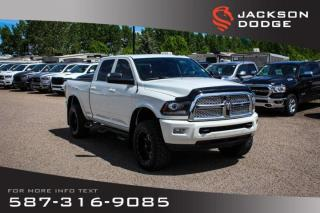 Used 2016 RAM 3500 Laramie - Sunroof, Leather, Remote Start for sale in Medicine Hat, AB