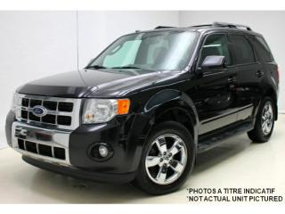 Used 2010 Ford Escape Limited V6 *Cuir/Leather *Toit/Roof for sale in St-Hubert, QC