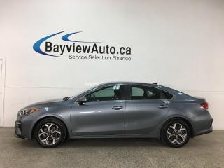 Used 2020 Kia Forte EX - AUTO! HTD SEATS! REVERSE CAM! ONLY 12,000KMS! + MORE! for sale in Belleville, ON