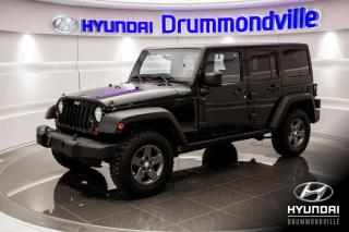 Used 2011 Jeep Wrangler RUBICON UNLIMITED 4X4 + GARANTIE +NAVI + for sale in Drummondville, QC