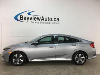 Used 2019 Honda Civic LX - AUTO! HTD SEATS! ADAPTIVE CRUISE! + MORE! 20,000KMS! for sale in Belleville, ON