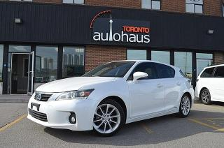 Used 2011 Lexus CT 200h 200h/LEATHER/SUNROOF/HTD SEATS/CAMERA for sale in Concord, ON