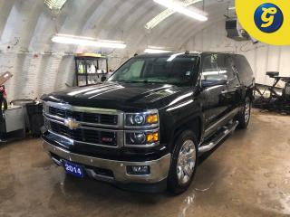Used 2014 Chevrolet Silverado 1500 LTZ Z71 * Crew Cab * 4 X 4 * Navigation * Sunroof * Leather * Back Up Camera *  Action Truck Cap * Side Steps *  Rear vision camera system * Heated Se for sale in Cambridge, ON