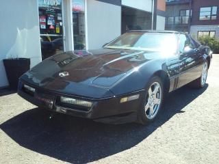 Used 1984 Chevrolet Corvette 2DR TARGA Z51 for sale in St-Charles-Borromée, QC