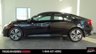 Used 2016 Honda Civic EX-T + HONDA SENSING + DÉMARREUR ! for sale in Trois-Rivières, QC