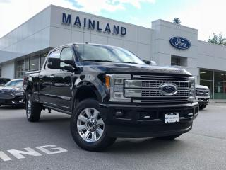 Used 2017 Ford F-350 Platinum NO ACCIDENTS, HARD TONNEAU, NAV, MOONROOF for sale in Surrey, BC