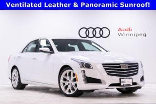 Used 2017 Cadillac CTS Sedan Premium Luxury AWD for sale in Winnipeg, MB