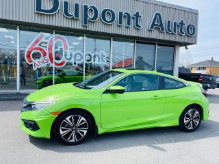 Used 2016 Honda Civic EX-T 2 portes CVT for sale in Alma, QC