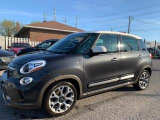 Used 2014 Fiat 500L Trekking, NAVIGATION, BLUETOOTH, BCKUP CAMERA, 44K for sale in Ottawa, ON