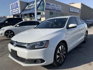 Used 2014 Volkswagen Jetta Turbocharged Hybrid Highline NAVI|CAMERA|LEATHER|SUNROOF|ALLOYS for sale in Concord, ON