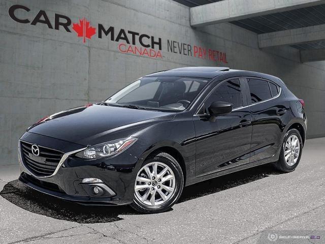 2015 Mazda MAZDA3 LEATHER / NO ACCIDENTS
