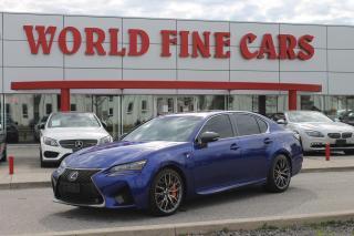 Used 2019 Lexus GS F | 460 HP! | *LOW* Mileage for sale in Etobicoke, ON