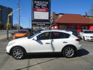 Used 2012 Infiniti EX35 LUXURY/ AWD/ LEATHER / CERTIFIED / NEW BRAKES for sale in Scarborough, ON
