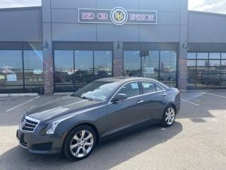 Used 2013 Cadillac ATS 4dr Sdn 2.0L Luxury AWD for sale in Thunder Bay, ON