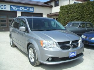 Used 2013 Dodge Grand Caravan Crew Plus for sale in Beaverton, ON