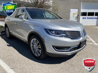 Used 2018 Lincoln MKX Reserve RESERVE/AWD/SUNROOF/TECH PKG for sale in Kitchener, ON