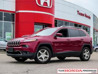 Used 2016 Jeep Cherokee Limited for sale in Milton, ON