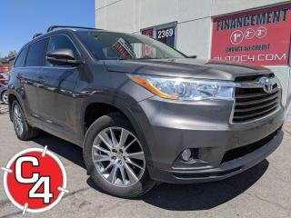 Used 2014 Toyota Highlander XLE AWD 7 PASS. CUIR TOIT NAVY for sale in St-Jérôme, QC