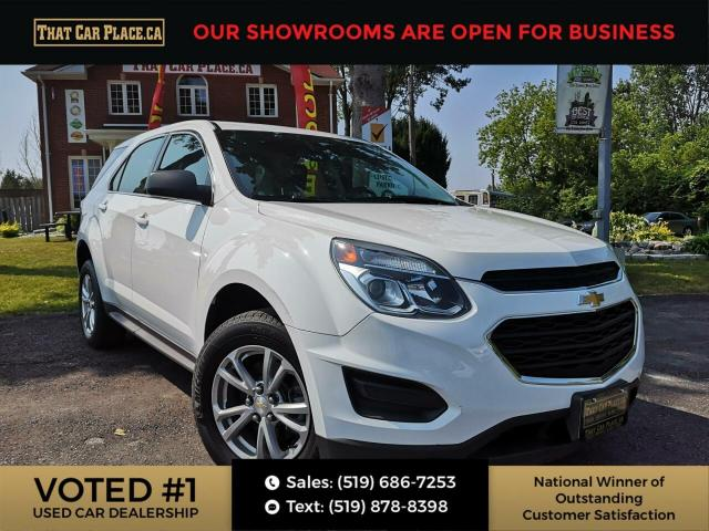 2017 Chevrolet Equinox LS AWD-Backup-Bluetooth-Cruise-SteeringWheelControls