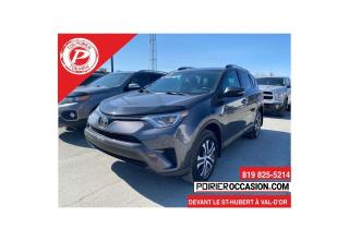 Used 2017 Toyota RAV4 LE 5 PASSAGERS for sale in Val-D'or, QC