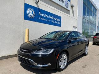 Used 2016 Chrysler 200 LIMITED - BLLUETOOTH / BIG SCREEN for sale in Edmonton, AB