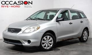 Used 2005 Toyota Matrix Automatique de BASE PAS A/C for sale in Boisbriand, QC