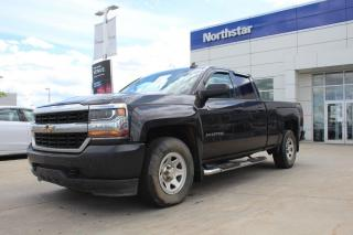 Used 2016 Chevrolet Silverado 1500 LS 4X4/DOUBLECAB/HEATEDSEATS/BLUETOOTH/CRUISE/AC for sale in Edmonton, AB