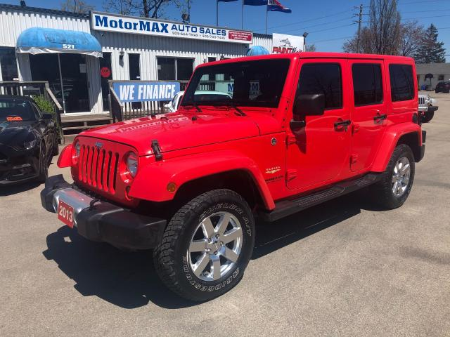 2013 Jeep Wrangler Sahara Unlimited-SOLD SOLD